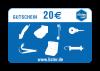 Gutschein Email 20 €
